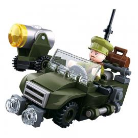 Sluban WWII 4in1 Army model B M38-B678B